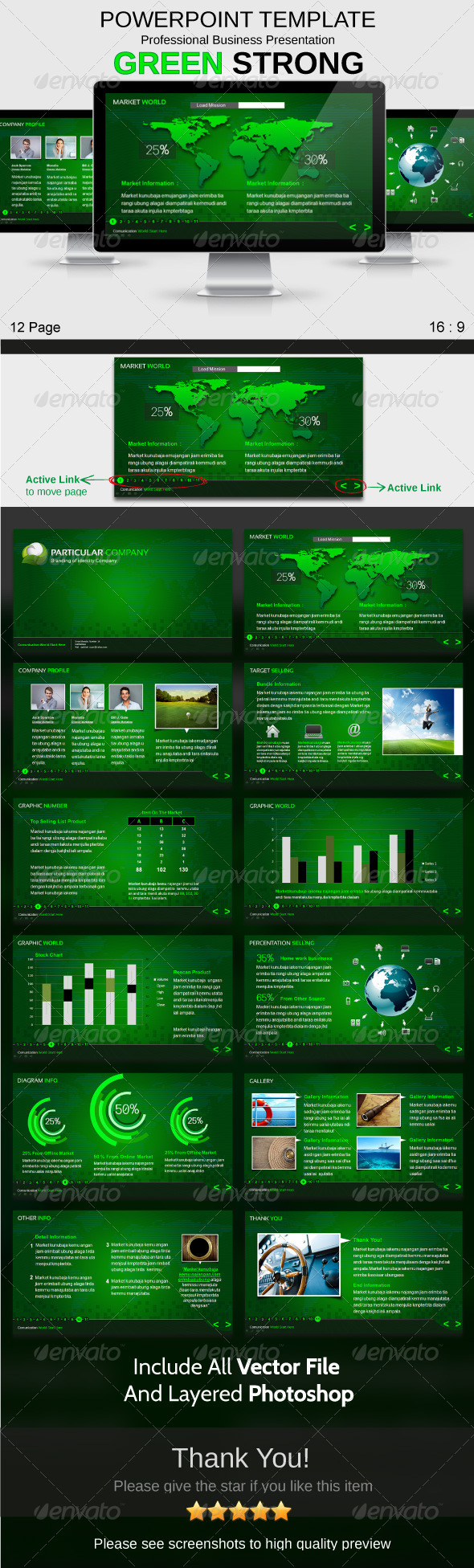 GraphicRiver Powerpoint Template 3948027