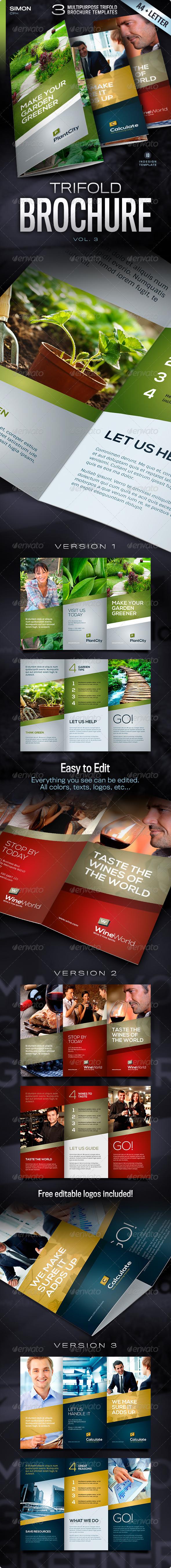 GraphicRiver Trifold Brochure Vol 3 4657202