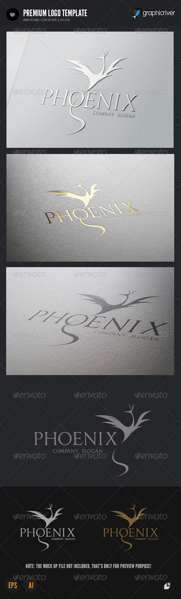 GraphicRiver Pheoenix Brand Logo 4657362