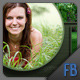 Facebook Timeline Cover with Grid and Circle - GraphicRiver Item for Sale