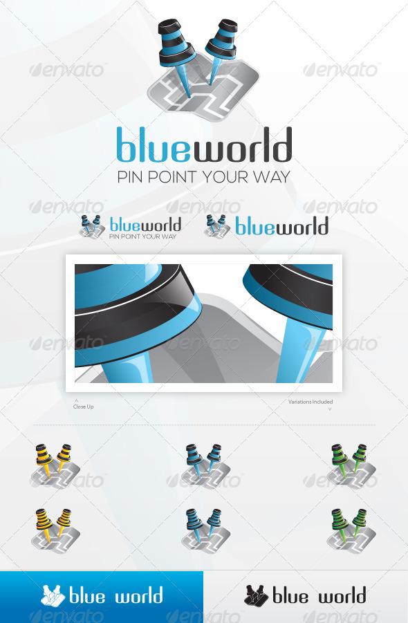Bee Around Logo - Objects Logo Templates