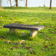 Bench on the lawn. - PhotoDune Item for Sale