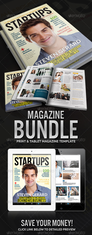 GraphicRiver Magazine Bundle 4657988