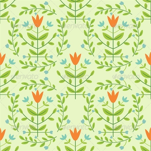 GraphicRiver Floral Pattern 4658006
