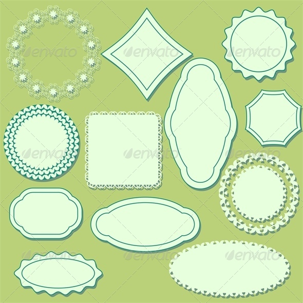 GraphicRiver Decorative Labels 4658499