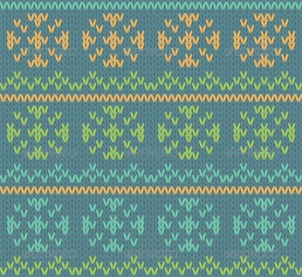 GraphicRiver Knit Pattern 4658871