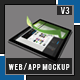Pro Web/App Mockup Pack 1 - GraphicRiver Item for Sale
