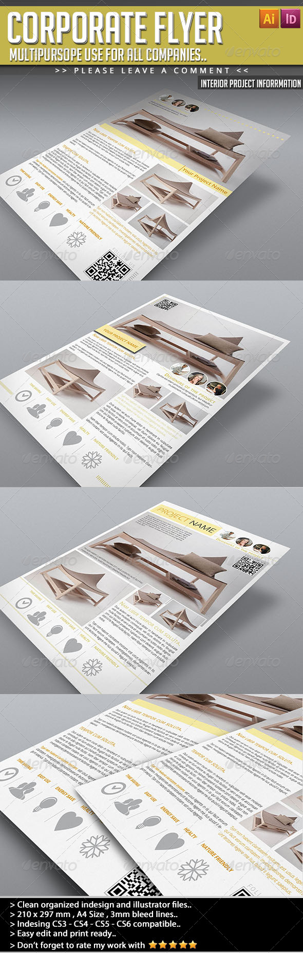 GraphicRiver Corporate Flyer Interior Project Information 4658952