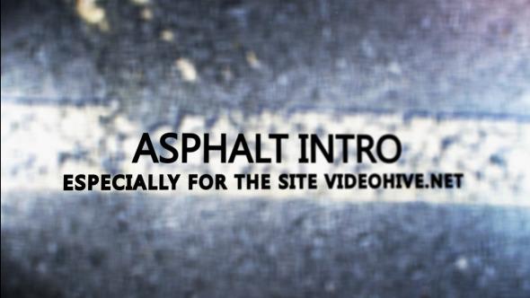 Asphalt Intro