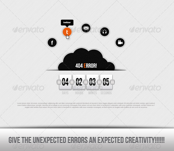 GraphicRiver White Error 4659174