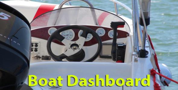 Boat Dashboard