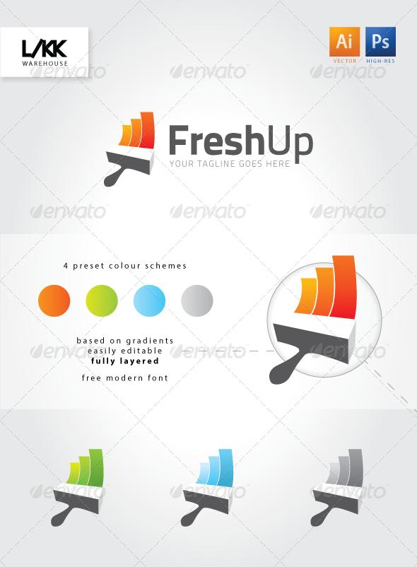 GraphicRiver FreshUp logo 4659475