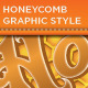 HoneyComb Graphic Styles - GraphicRiver Item for Sale