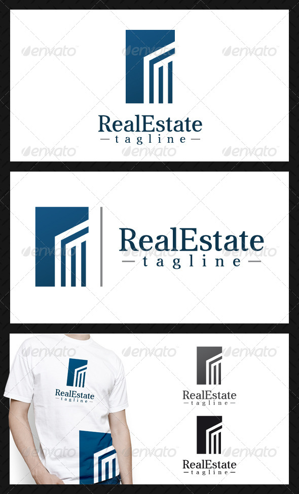 GraphicRiver Real Estate Building Logo Template 4659585