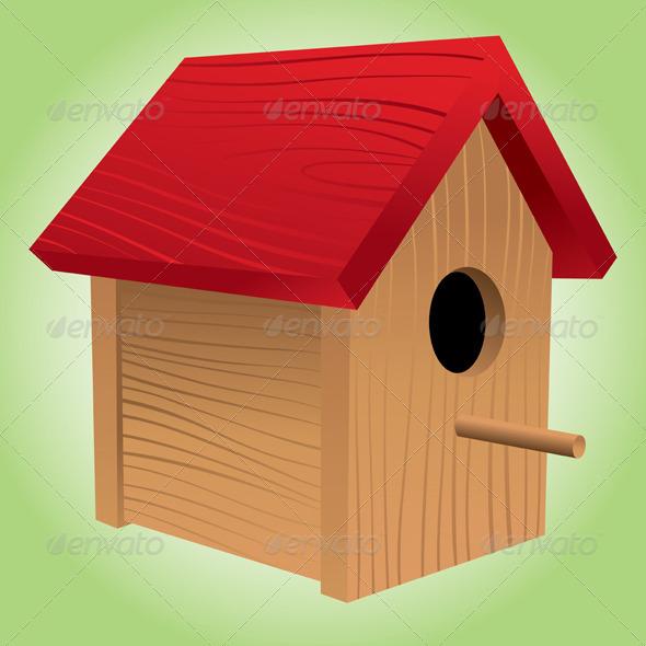 GraphicRiver Birdhouse 4659659