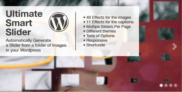 CodeCanyon Ultimate Smart Slider Wordpress 4659687