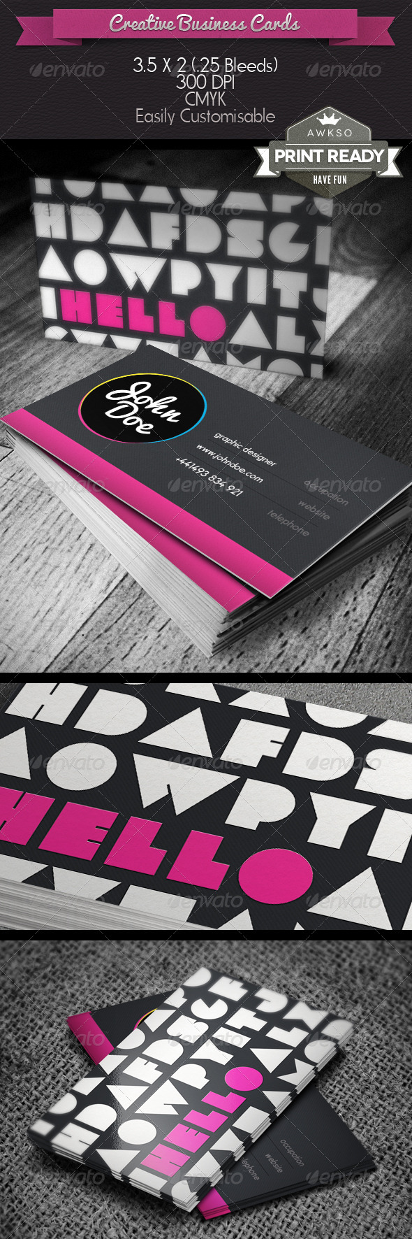 GraphicRiver Creative Business Card 4600654