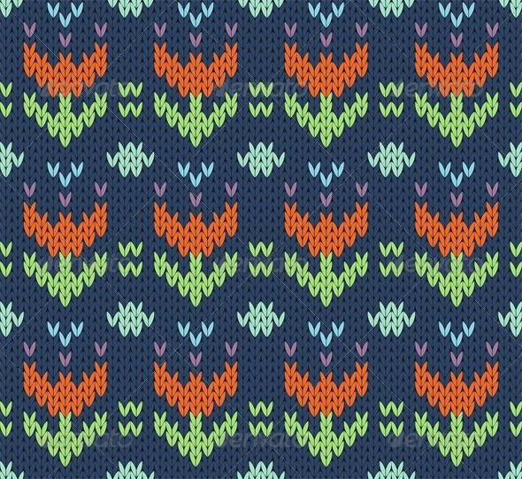 GraphicRiver Knit Pattern 4659899