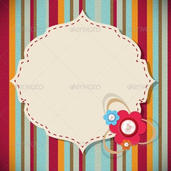 GraphicRiver Frame in Retro Vintage Background 4659906