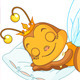 Sleeping Bee - GraphicRiver Item for Sale