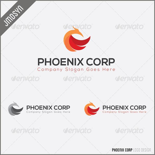 GraphicRiver Phoenix Logo 4659955