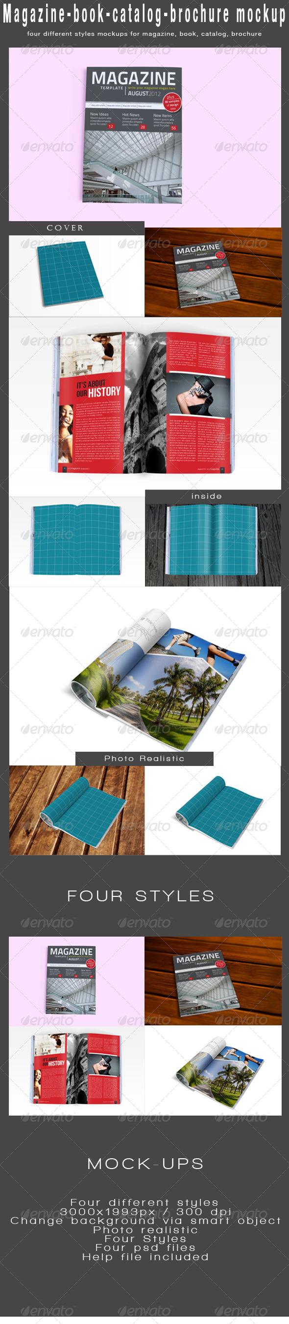 GraphicRiver Magazine Mock-Ups 4659957