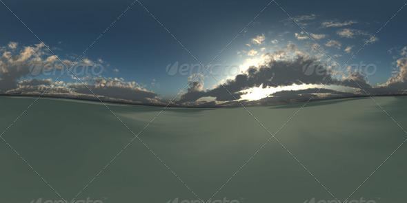 3DOcean Dusky Sky HDRI 487392