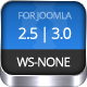 WS-None | Responsive & Clean Joomla Template  Free Download