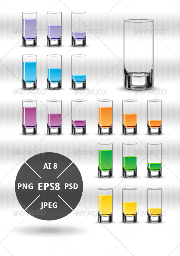 GraphicRiver Various Drinks 4661985