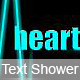 HeartWave Text-shower - ActiveDen Item for Sale