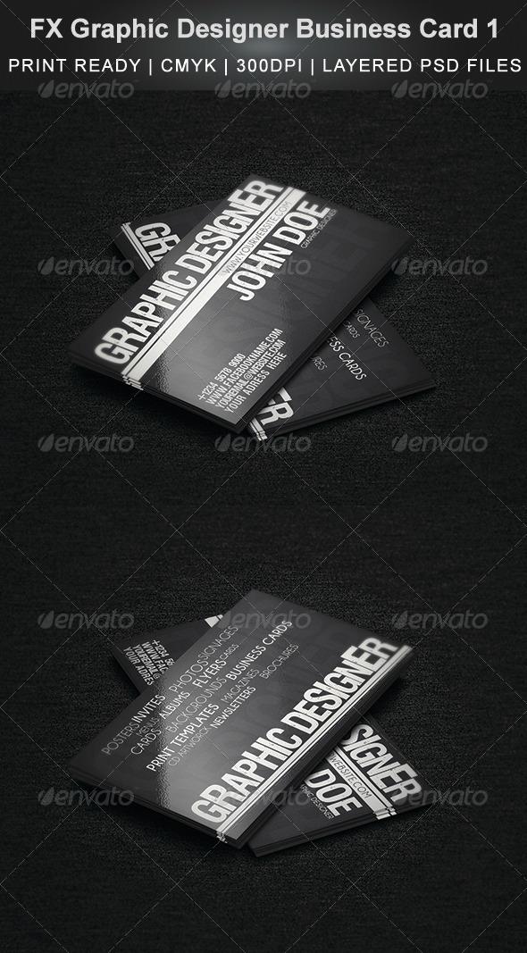 GraphicRiver FX Graphic Designer Business Card 1 4662244