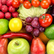 bright background  of vegetables and fruits - PhotoDune Item for Sale