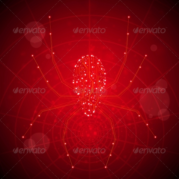 GraphicRiver Circuit Board Vector Background 4662423