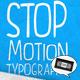 Stop Motion Typography - VideoHive Item for Sale