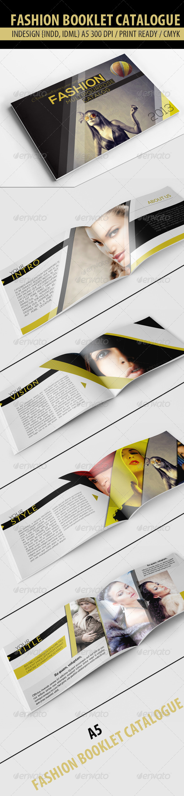 GraphicRiver Fashion Catalog 4662650