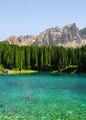 Carezza lake, Val di fassa