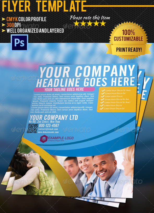 GraphicRiver Corporate Business Flyer 007 4583480