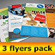 3 Business Flyers - GraphicRiver Item for Sale