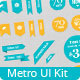 Metro Inspired UI Kit - GraphicRiver Item for Sale
