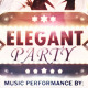 Elegant Party - Flyer - GraphicRiver Item for Sale