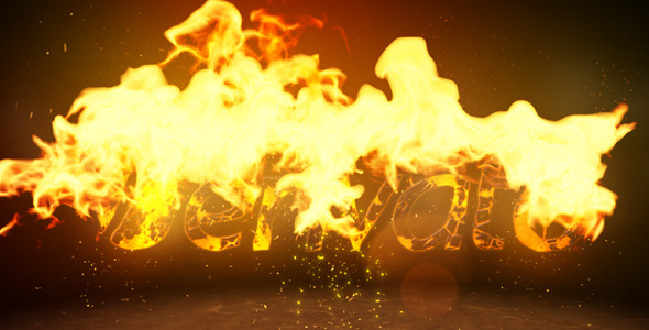 Fire Logo Reveal By Motionape Videohive