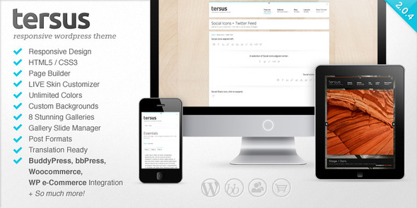 Tersus - Responsive WordPress Theme - Corporate WordPress