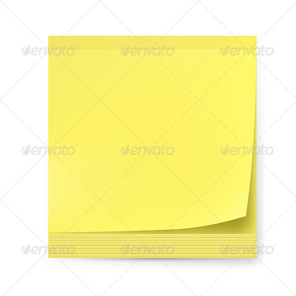 GraphicRiver Yellow Sticker 4663697