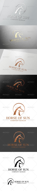 GraphicRiver Horse Of Sun Logo 4664196