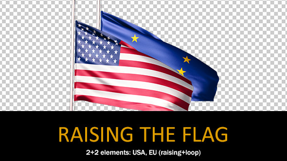 Raising The Flag
