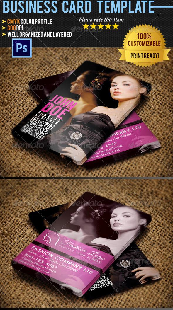GraphicRiver Fashion Business Card 04 4664944