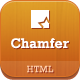 Chamfer - One Page Creative HTML Template - ThemeForest Item for Sale