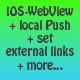 iOS-WebView: Open specific links in Safari + Push - CodeCanyon Item for Sale