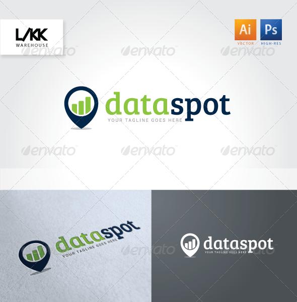 GraphicRiver DataSpot Logo 4665260
