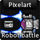 Robot Battle Game Sprites - GraphicRiver Item for Sale